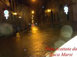 Acquazzone a Trieste: LE FOTO