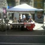 Venerdì 10 Giugno: banchetto Partito Socialista per i 4 SI' al referendum
