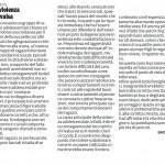 """Se violenza è rivalsa - Segnalazione de""""Il Piccolo"""" del 02/03/2013"""