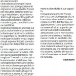 """Convegno socialisti poco sfruttato - Segnalazione de""""Il Piccolo"""" del 13/02/2013"""