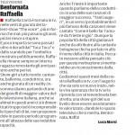 """Bentornata Raffaella - Segnalazione de""""Il Piccolo"""" del 10/03/2013"""