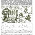 Grillo e la la veggente di Medjugorje - Articolo dall'Avanti della Domenica del 17/02/2013