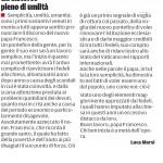 """Un discorso pieno di umanità - Segnalazione de""""Il Piccolo"""" del 17/03/2013"""