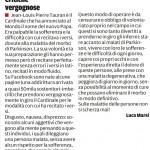 """Critiche vergognose – Segnalazione de""""Il Piccolo"""" del 21/03/2013"""