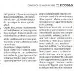 """Alla Domenica """"esclusive"""" trash -  Segnalazione de""""Il Piccolo"""" del 12/05/2013"""
