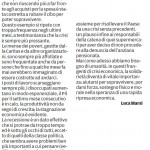 """Furto di alimentari - Segnalazione de""""Il Piccolo"""" del 18/05/2013"""