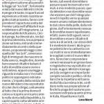"""Ministri e rispetto - Segnalazione de""""Il Piccolo"""" del 10/05/2013"""