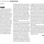 """Merita il salvataggio - Segnalazione de""""Il Piccolo"""" del 11/08/2013"""