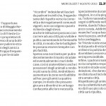 """Bravi Sindaci - Segnalazione de""""Il Piccolo"""" del 07-08-2013"""