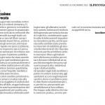 """Occasione sprecata - Segnalazione de""""Il Piccolo"""" del 20/12/2013"""