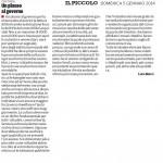 Un plauso al governo - Segnalazione sul Piccolo di Domenica 05-01-2013