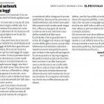 Social network senza leggi - Segnalazione sul Piccolo di 08/01/2014