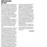 """Imbrattamento dei muri - Segnalazione de""""Il Piccolo"""" del 05/02/2014"""