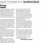 """Intervenga la regione - Segnalazione de""""Il Piccolo"""" del 07/10/2013"""
