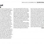 """Colpevoli silenzi - Segnalazione de""""Il Piccolo"""" del 11/12/2013"""