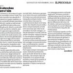 """Più educazione contro l'aids - Segnalazione de""""Il Piccolo"""" del 28/11/2013"""