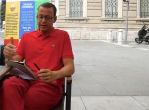 """Intervento Luca Marsi durante la conferenza stampa di presentazione dei referendum """"Cambiano Noi"""""""