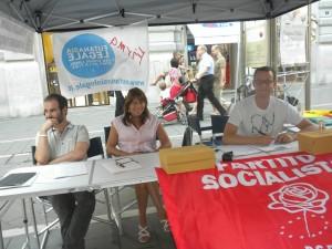 """PSI per la campagna referendaria 2013 """"Cambiamo Noi"""" – TRIESTE"""