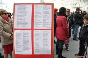 Flash mob – Giornata contro la violenza sulle donne 24-11-13