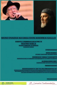 Moni Ovadia ricorda Don Gallo
