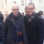 Con Gabriele Salvatores