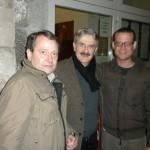 Con Giuseppe Pambieri