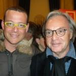 Con Diego Della Valle