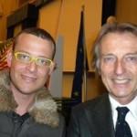 Con Luca Cordero di Montezemolo