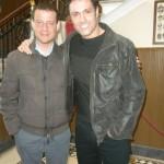 Con Marco Falaguasta