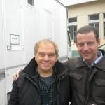 Con Marco Marzocca